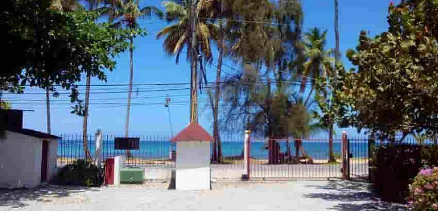 Apartamento en alquiler en primera línea de mar en Las Terrenas